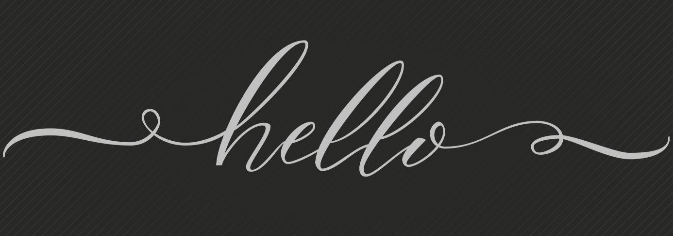 sierletters hello